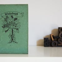 NEW LINE  Herbology Notebook dark cover by celestefrittata on Etsy