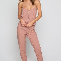 INDAH Judd Jumpsuit - Dusty Rose | ISHINE365