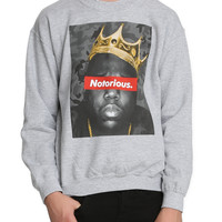 The Notorious B.I.G. Crown Crewneck Sweatshirt