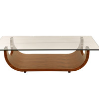 Saly Coffee Table Walnut