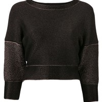 Ohne Titel cropped sweater top