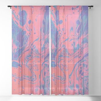 Sugar Melt Sheer Curtain by duckyb
