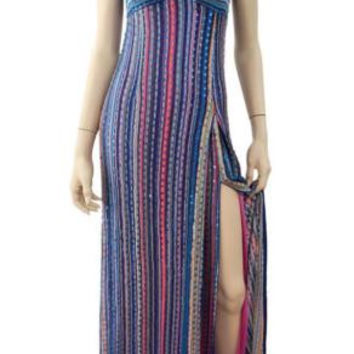 MISSONI Striped Knit Maxi Dress, IT 42 / US 6