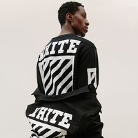 Newest Fashion Autumn Mens Off White T Shirt Hip Hop Long Sleeve Off-White Tshirt Tee For Men US/EUR SIZE S-3XL
