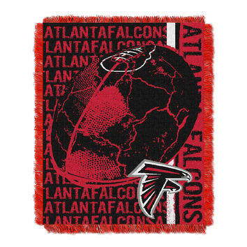 Atlanta Falcons NFL Triple Woven Jacquard Throw (Double Play) (48x60)