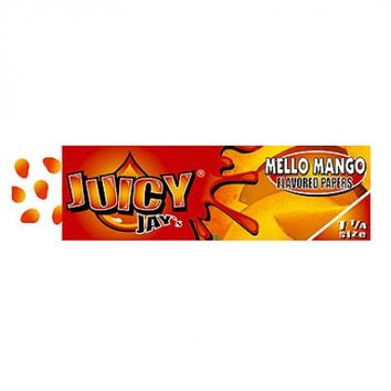 Juicy Jay's Mello Mango Regular Size Rolling Papers - Single Pack