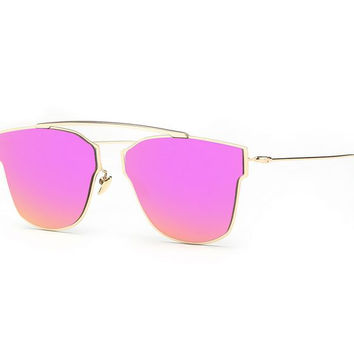 Maje Sunglasses - Pink/Gold