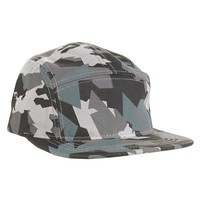 Camo Adjustable Jockey Cap