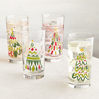 Jolly Tree Tumblers Set of Four