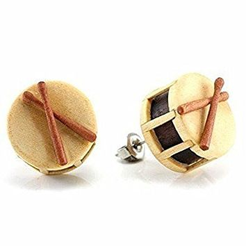 Drum Makerpin WildKlass Earring Studs
