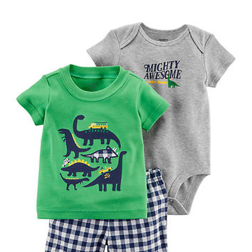 Carter's® Infant Boys 3-Piece Little Short Set