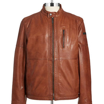Strellson Founder Leather Jacket