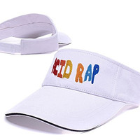 DEBANG Chance The Rapper Acid Rap Logo Sun Cap Embroidery Golf Visor Hat