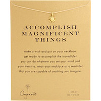 Dogeared Jewels Accomplish Magnificent Things Necklace 16