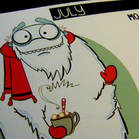 2012 Calender Cute Cryptozoology Creatures by littletoad on Etsy