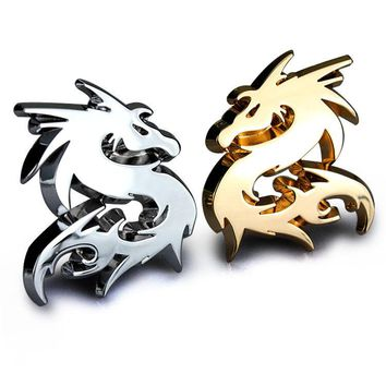 Chinese Dragon Totem Emblem 3D Decal
