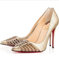 CL Christian Louboutin Fashion Heels Shoes-169