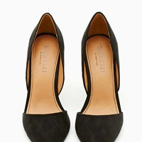 Shoe Cult Siren Pump - Black