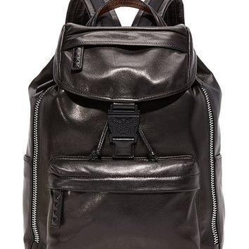 MCM Men's Killian Leather Backpack