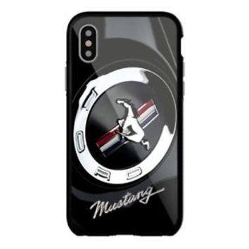 Best Ford Mustang Logo iPhone Samsung 6 6s 7 8 X Plus Edge Hard Plastic Case