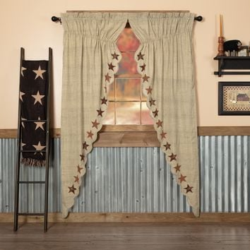 Abilene Star Long Prairie Curtains