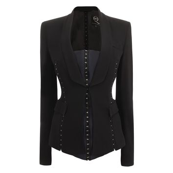 Tailored Hook And Eye Jacket McQ   Jacket   Ready To Wear
