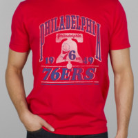 NBA Philadelphia 76ers Champion Tee -  - Junk Food Clothing
