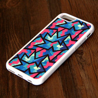 Color Zigzag Geometric iPhone 6 Plus 6 5S 5 5C 4S 4S 4 Tough Case 306
