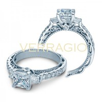 Verragio Venetian AFN-5058P Halo Pave Engagement Ring