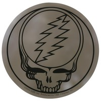 Grateful Dead - Steal Your Face Chrome Decal