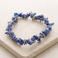 Lapis Gemstone Nugget Power Bracelet