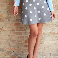 Dottingham Polka Dot Skirt