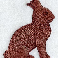 Choice of Easter Bunny Designs Embroidered on Hanging Towels Aprons Placemats or Napkins
