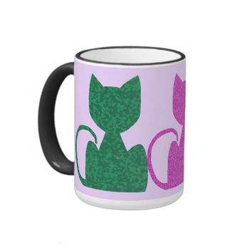 Triple CrystalKatz Coffee Mugs
