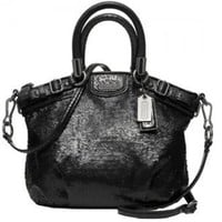 # NEW AUTHENTIC COACH MADISON MINI Xsmall SEQUINS SOPHIA CONVERTIBLE SHOULDER BAG (Black)