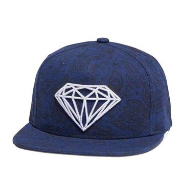 ONETOW Diamond Supply Co. - Brilliant Radiant Clipback - Navy