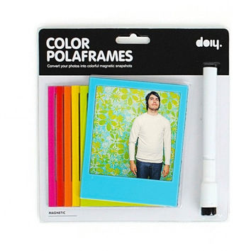 Color Magnetic Polaframes | Polaroid Photo Magnet Frames