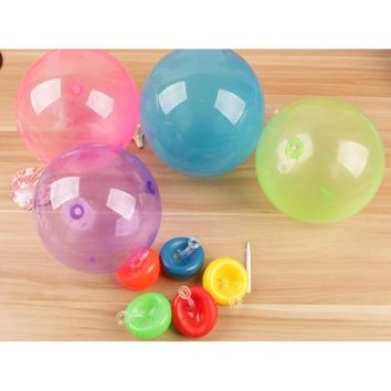 Tiny Transparent Bubble Balloon Inflation Outdoor Sport Toys