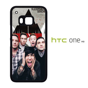 Various Sleeping With Sirens X2349 HTC One M9  Case