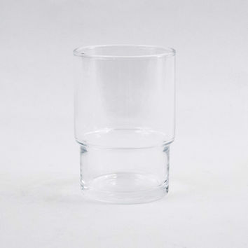 Hard Strong Glass Stacking Tumbler