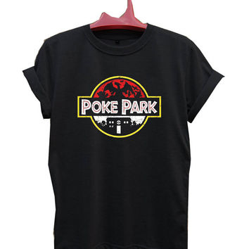 poke park pokemon T-Shirt Men, Women and Youth size S-2XL