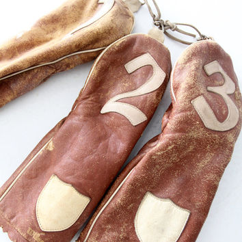 FREE SHIP vintage Wilson leather golf club covers
