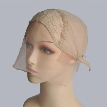 Lace Front Wig Cap Base For Customizing Your Own Wigs With Adjustable Strap Glueless Weaving Caps For Making Wigs