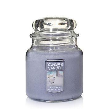 A Calm & Quiet Place : Medium Classic Jar Candles : Yankee Candle