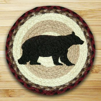 Cabin Bear Printed Swatch