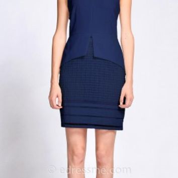 Ella Sheath Day Dress by EDM Private Collection