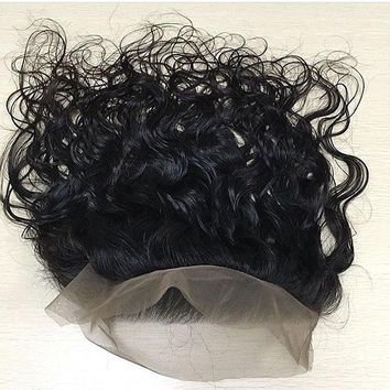 360 Full Lace Frontal Natural Wave