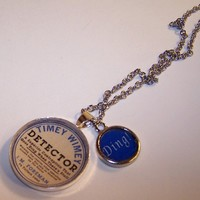 Timey Wimey Detector Necklace Goes Ding by imaginationemporium