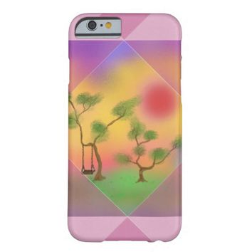 Swing in the Sunset Barely There iPhone 6 Case