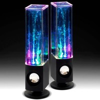 Soundmaster Dancing Water Speakers